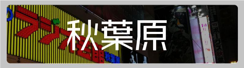秋葉原のアニメ・オタクショップ